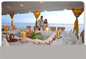 The Rarotongan Beach Resort Wedding 1