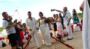 Iririki Island Resort Wedding