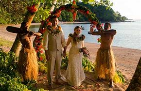 Beqa Lagoon Resort Wedding Package 450px