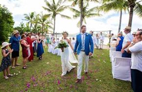 Musket Cove Island Resort Fiji Wedding Main
