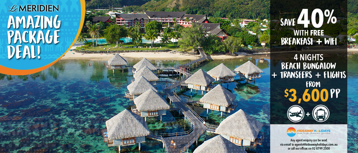Le Meridien Bora Bora Package Deal