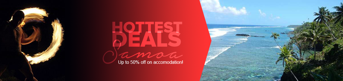 Samoa Holiday Deals and Specials